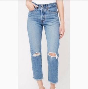 New LEVI'S Wedgie Straight